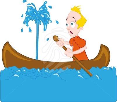Ce facem cand barca ia apa la serviciu?
